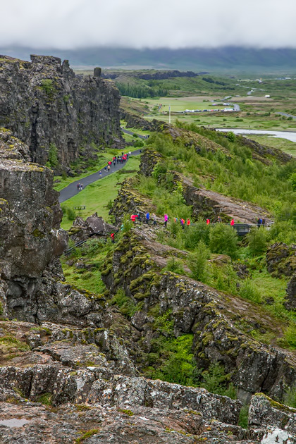 American and European continental plate