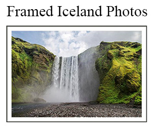 Framed Photos Iceland Souvenirs