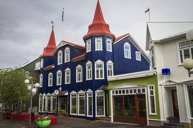 Cute houses Akureyri