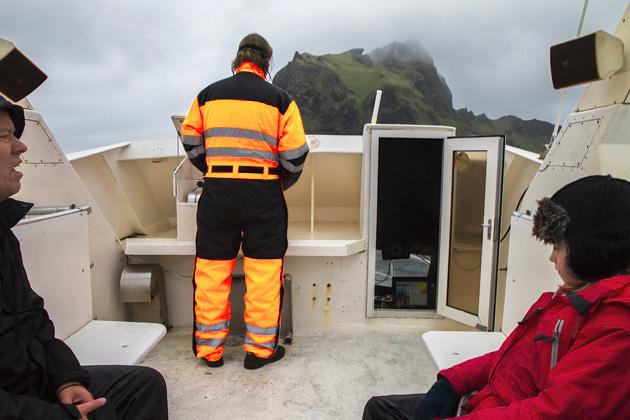 Boots Ausflug Westman Islands