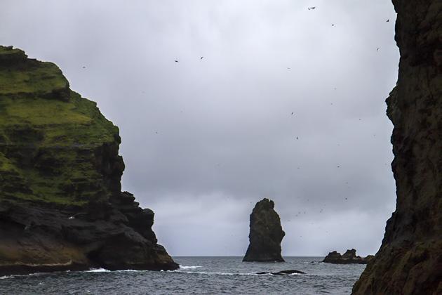 Small Tiny Island Iceland