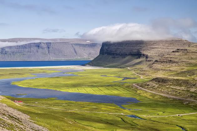 Beach Valley Iceland