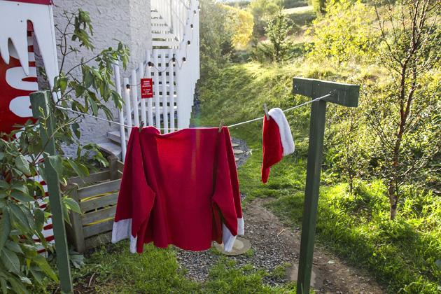 Santa Claus Laundry