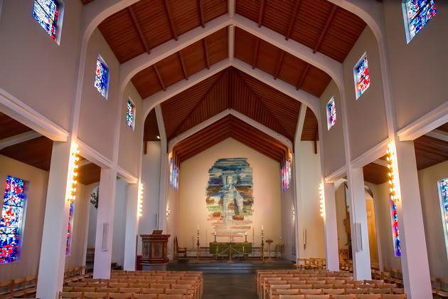 Church at Skálholt Iceland