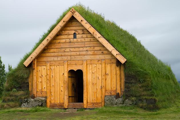 Wood Hut Iceland