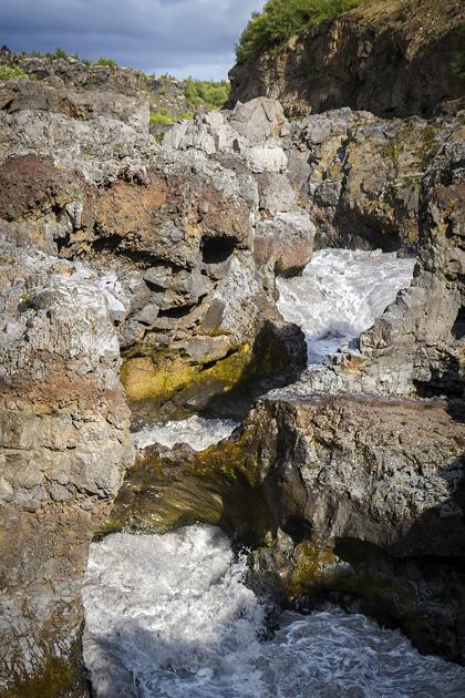 Hraunfoss River