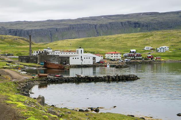 Djúpavík Harbor