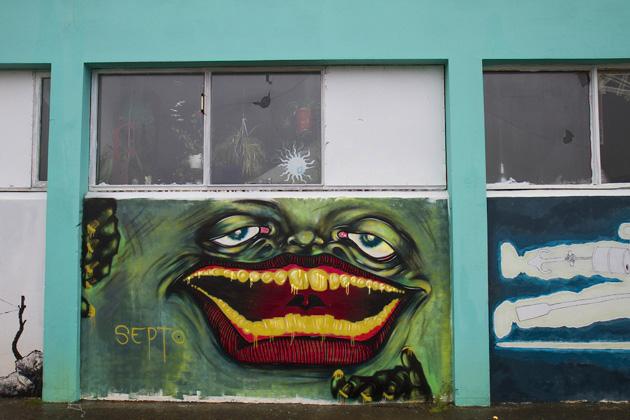 Stöðvarfjörður Graffiti