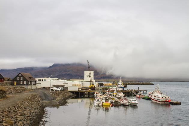 Djúpivógur Harbor
