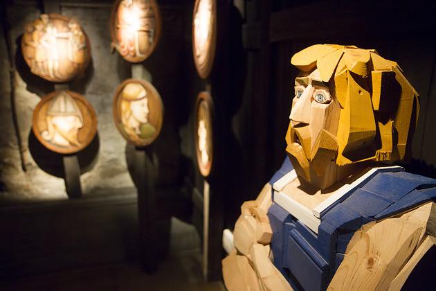 Wood Statue Iceland