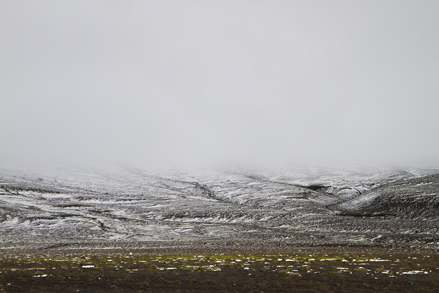 Highlands Snow Iceland