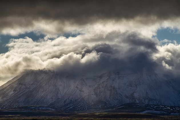 Massice Mountain Clouds