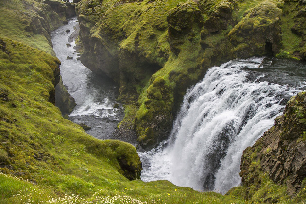 Iceland Waterfall Blog