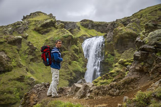 Hiker Iceland