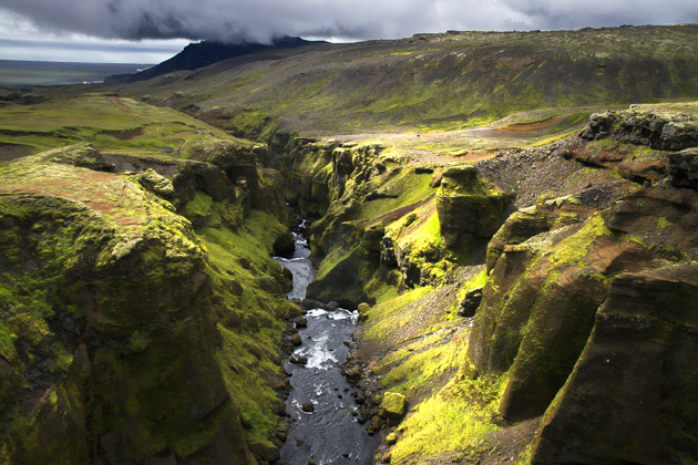 Fimnvorduhals Canyon