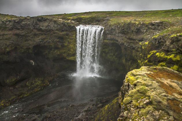 Wasserfall Island Reise Blog
