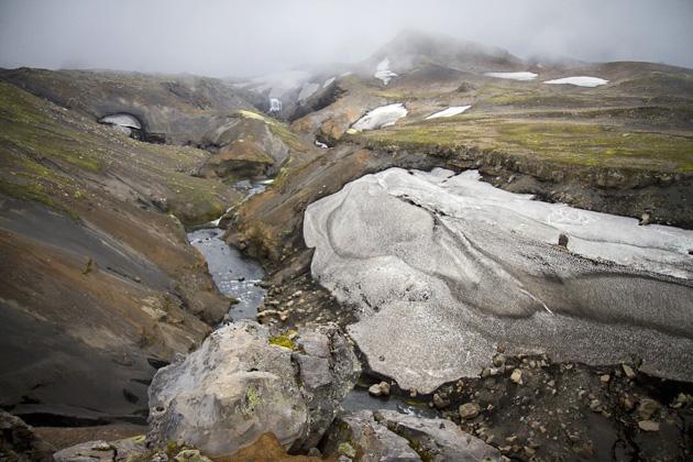 Mondlandschaft Island