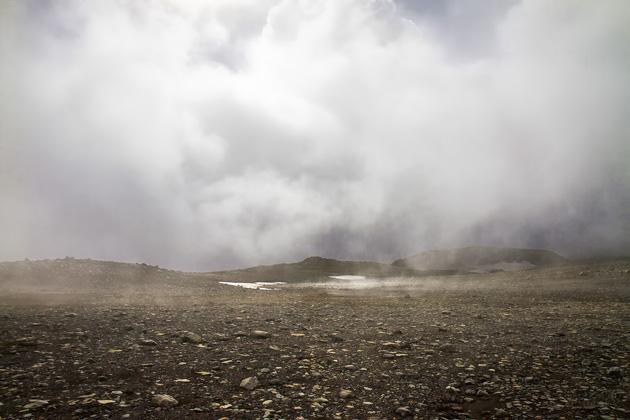 Grey Landscape Iceland
