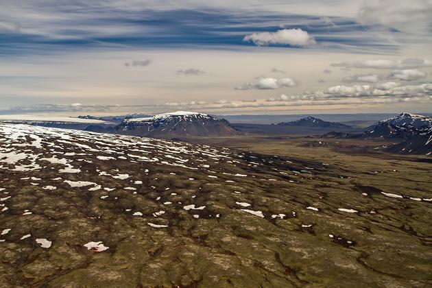 Snow Volcanoes Icealdn