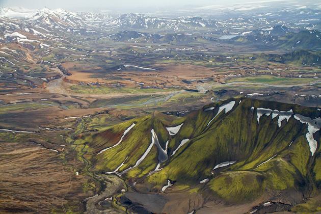 Green Volcano Mountain