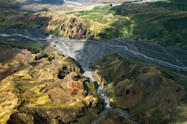 Valley Iceland