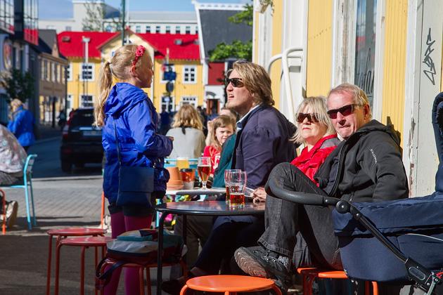 Sunny Day In Reykjavik
