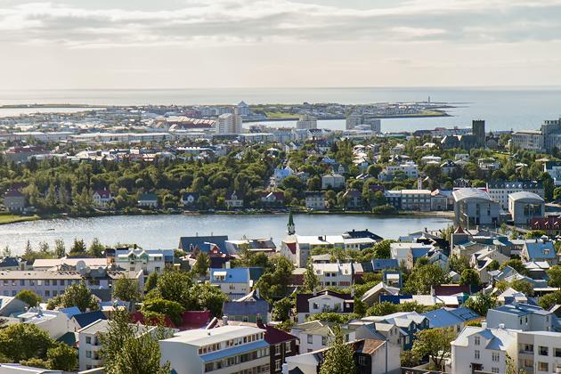 Reykjavik Lake