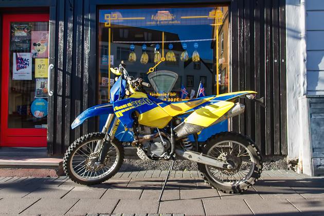 Dirt Bike Iceland