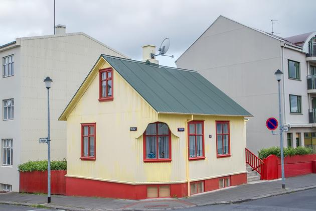 Cutest House In Reykjavik