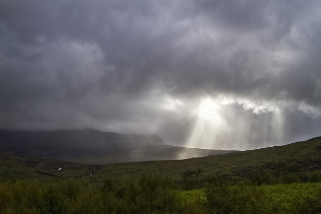 Dramatic Clouds Iceland