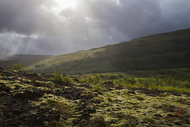 Sun Spots Iceland