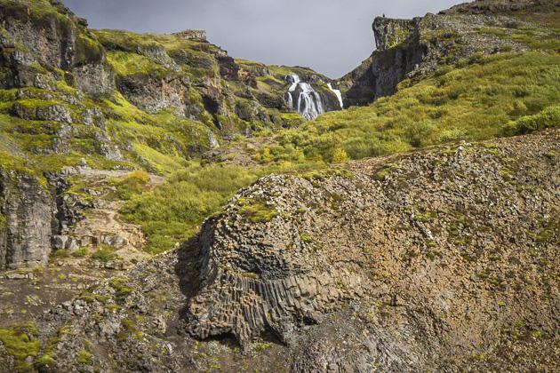 Basalt Waterfall Iceland