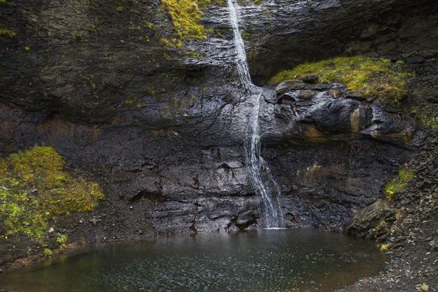 Hidden Waterfall Iceland