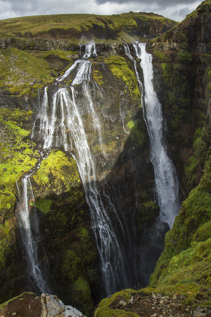 Highest Waterfall Iceland