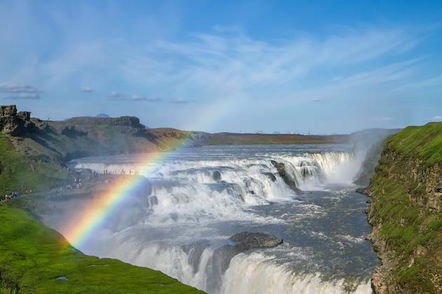Rainbow Gullfoss