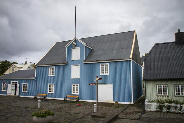 Blue House Iceland