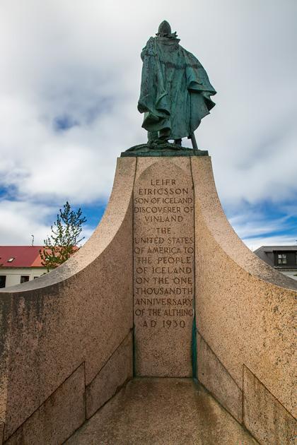 Hallgrímskirkja Statue