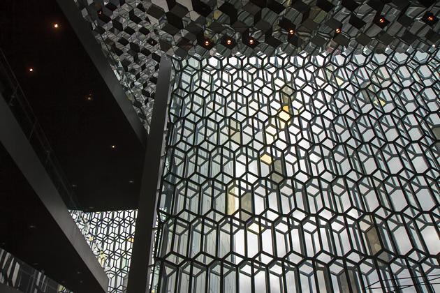 Glass Front Harpa