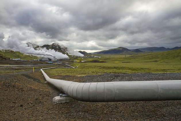 Geothermal Pipe Iceland