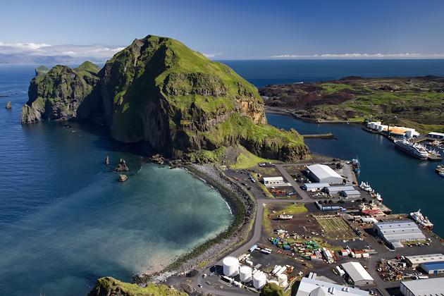 Heimaey Stock Photo Westman Islands