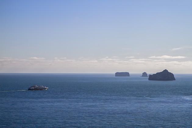 Cruise Ship Westman Islands