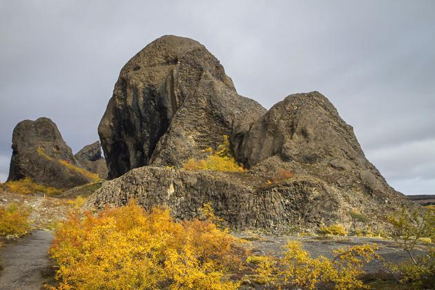 Hljóðaklettar and Rauðhólar