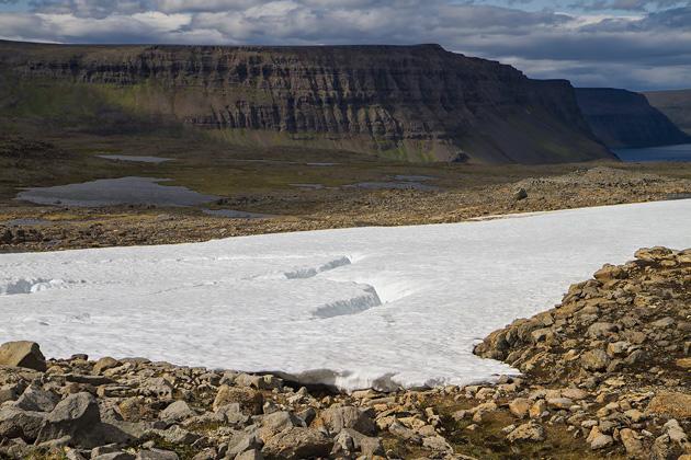 Snow Cliffs Hornstrandir