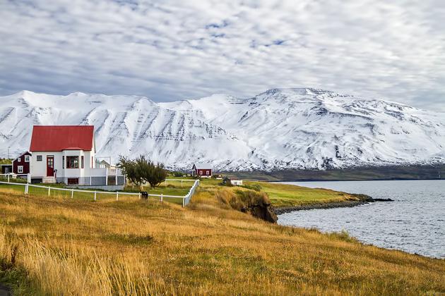 Autor On Hrísey Island