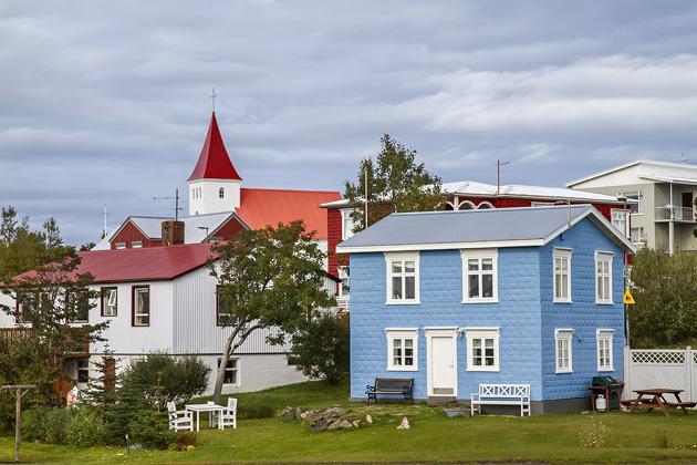 Hrísey Iceland