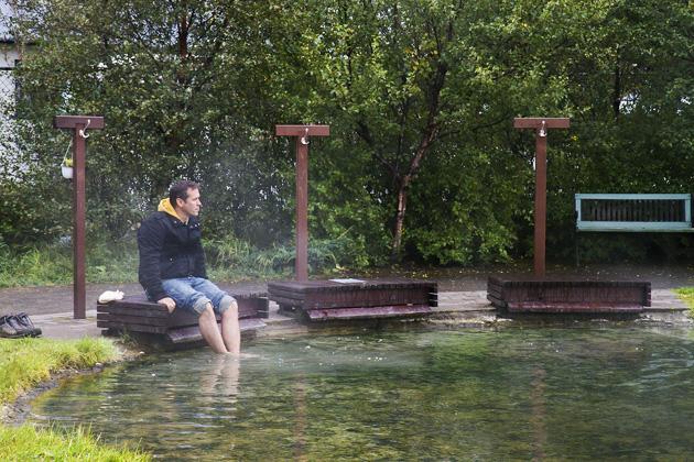 Foot Bath Hveragerði