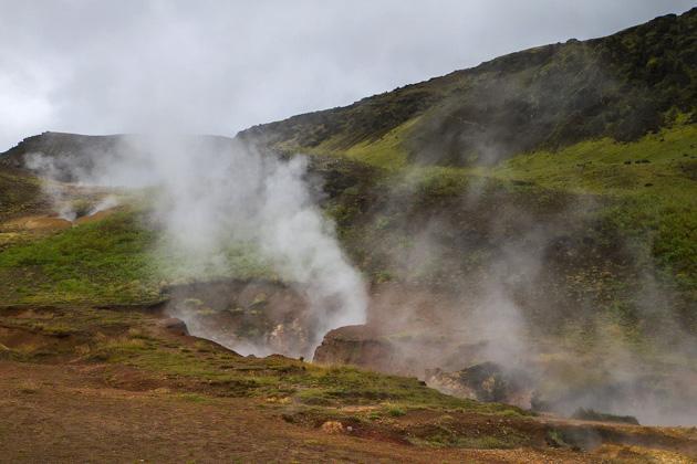 Steam in Hveragerði