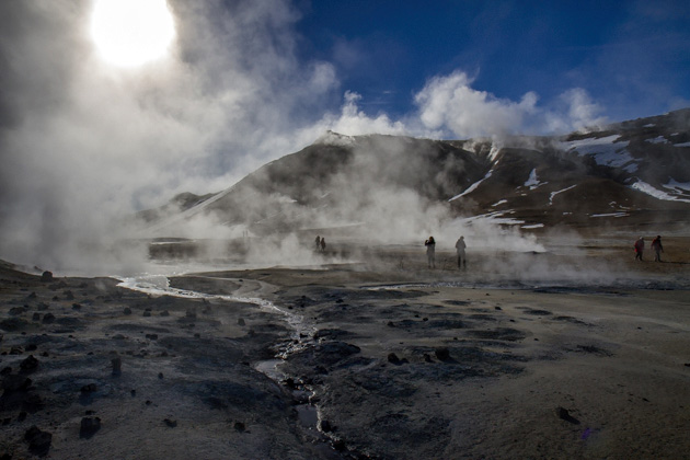 Hverir Hot Springs