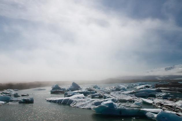 Gletscher Lagoone Island