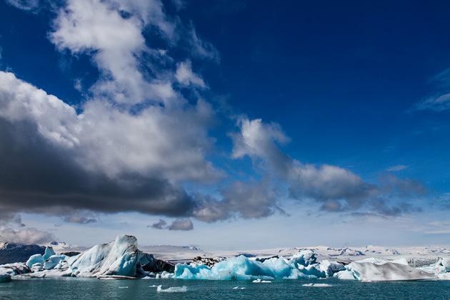 Sunny Glacier Lagoon